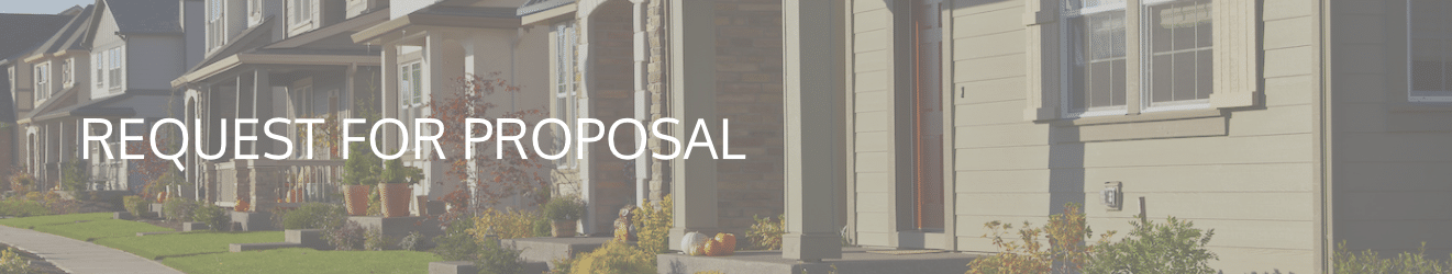 Request a Proposal